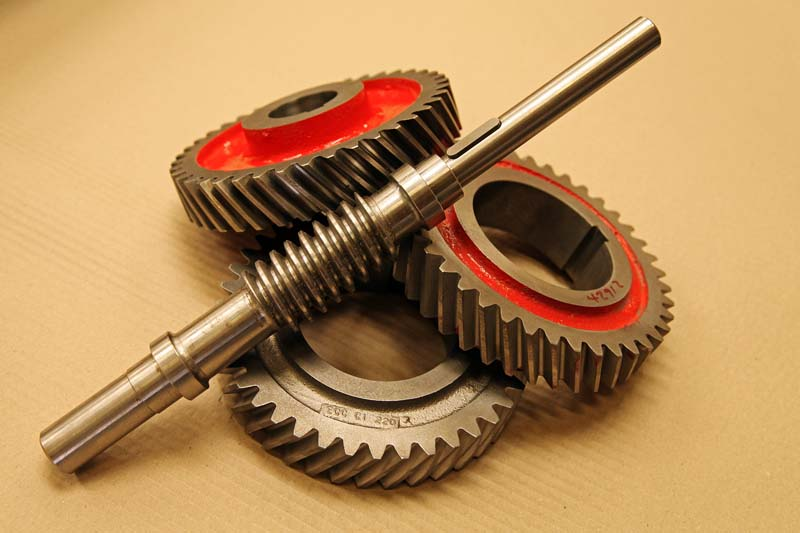 Flaking Mill Gears